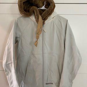 MARMOT Faux Fur Hood Performance Jacket